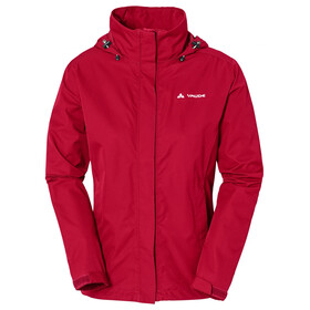 VAUDE Escape Bike Light Jas Dames rood